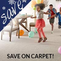 Free installation with any regular priced carpet & pad purchase this month only at Floors 55 in Portland & Oregon City!