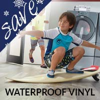 Waterproof Luxury Vinyl starting at $2.69 sq.ft. this month only at Floors 55 in Portland & Oregon City!