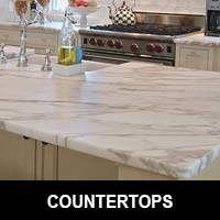Stunning Granite and Quartz countertops are available at Floors 55 in Portland.