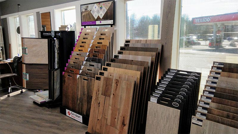 Find the perfect hard surface flooring at our Oregon City showroom today!