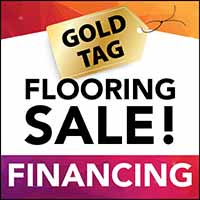 12 months no interest, no payment - same as cash - financing on your new flooring at Floors 55