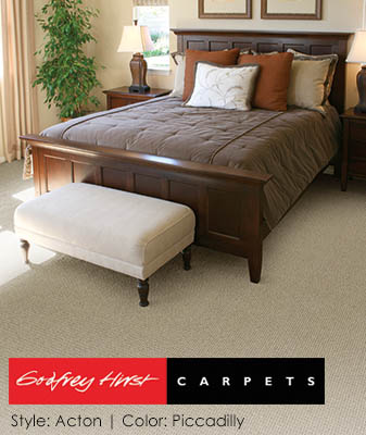 Godfrey Hirst Acton Piccadilly Bedroom Carpet Roomscene